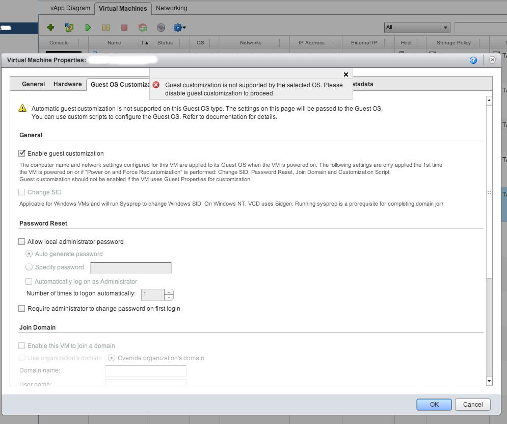 VMware vCD Guest Customization for Debian | Net Tweets